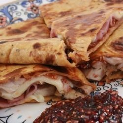 Monte Cristo Quesadilla is a lighter version of the original classic.