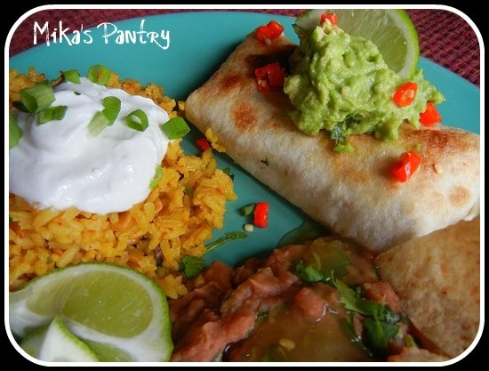 Baked Salsa Verde Chicken Chimichangas | Food I want to make | Pinter ...