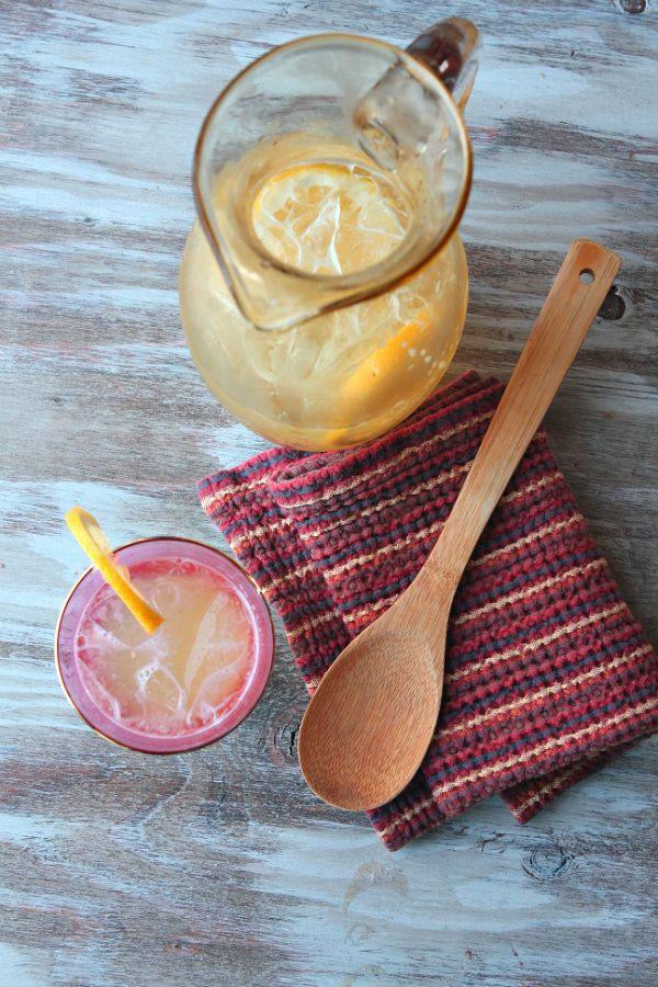 Ginger Beer Lemonade- and the I Love Trader Joe's College Cookbook!