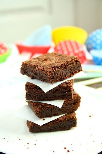 Moist & Chewy Brownie recipe | Cookies & Brownies | Pinterest