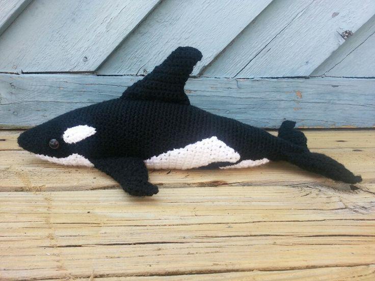 Amigurumi Orca Whale : Orca whale Crochet - Amigurumi and Toys Pinterest