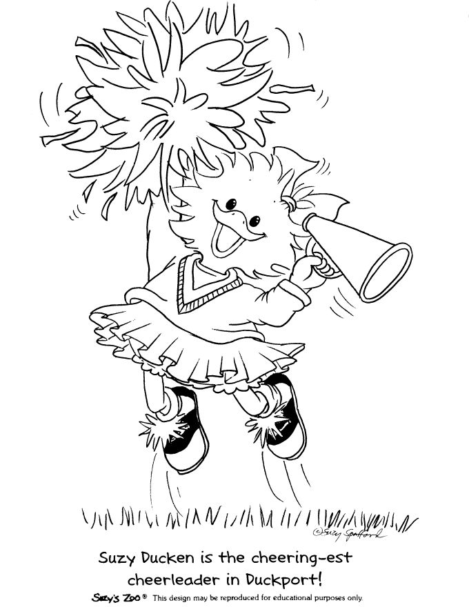 suzy zoo colouring pages - Suzy Zoo Coloring Pages Printable