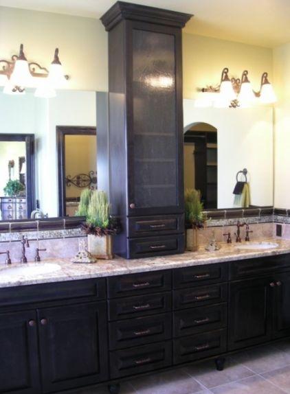 Bathroom Vanity Tower Ideas : Vanity tower master bathroom suite