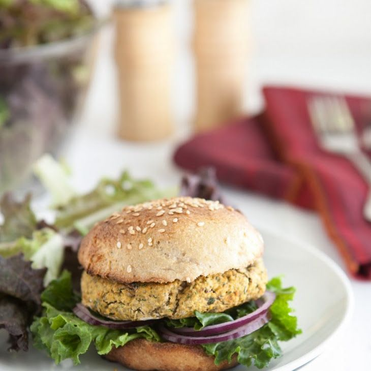 Chickpea and Spinach Burgers Recipe | Recipes | Pinterest