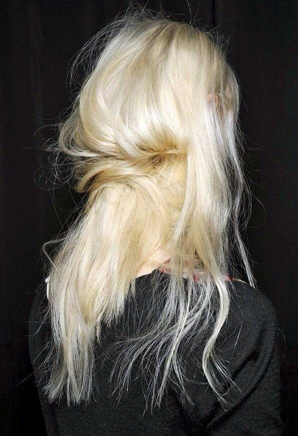 Undone #platinumblonde #hairinspo