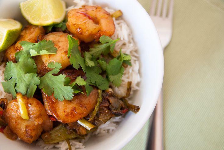 Asparagus and Prawn Stir-fry | *BEAUTIFUL FOOD* | Pinterest