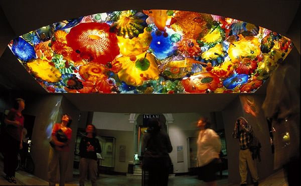 Glass Art Ceiling, Chihuly