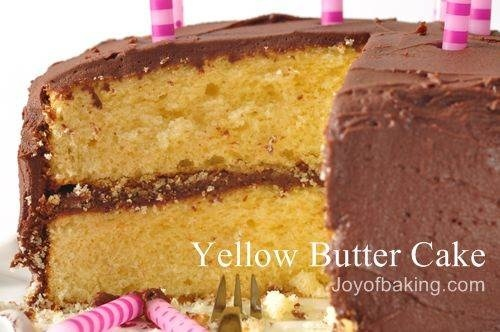 My favorite dense, moist, amazing butter cake recipe.