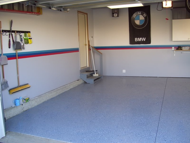 Custom Painted Garage Colors Bmw Garage Pinterest
