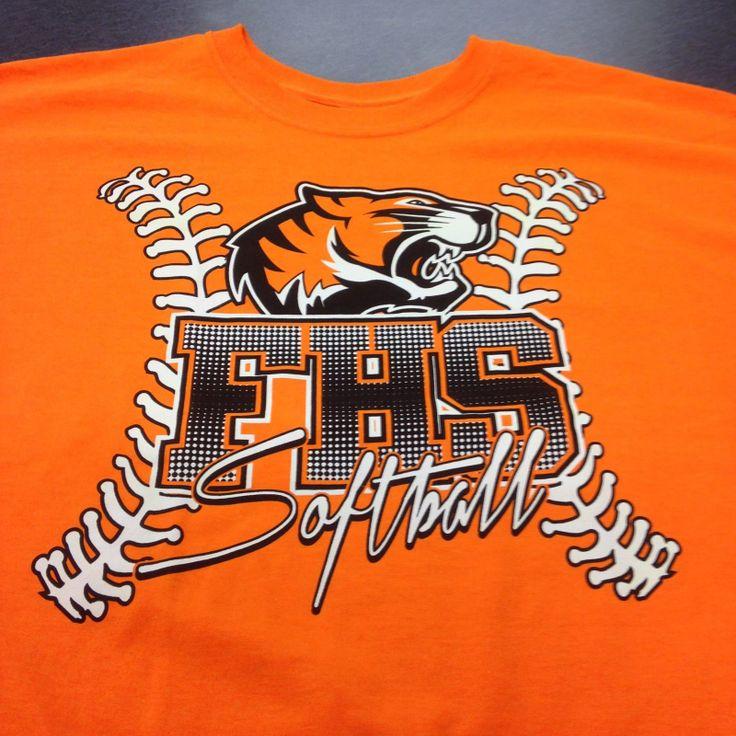 softball t shirts fayettevillehigh tennessee screen printing