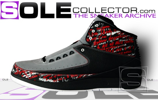 the Air Jordan 2 high tops and low tops were very stylish, making them