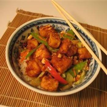 Tofu Peanut Stir-Fry | for the home | Pinterest