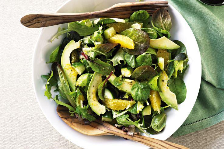 Avocado salad with citrus vinaigrette   Salads & dressings   Pinterest