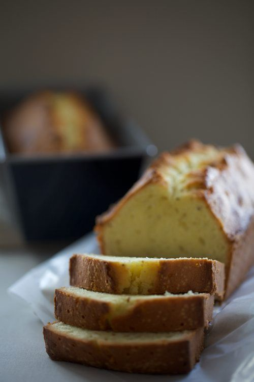 Fennel & Almond Pound Cake with Sambuca Syrup