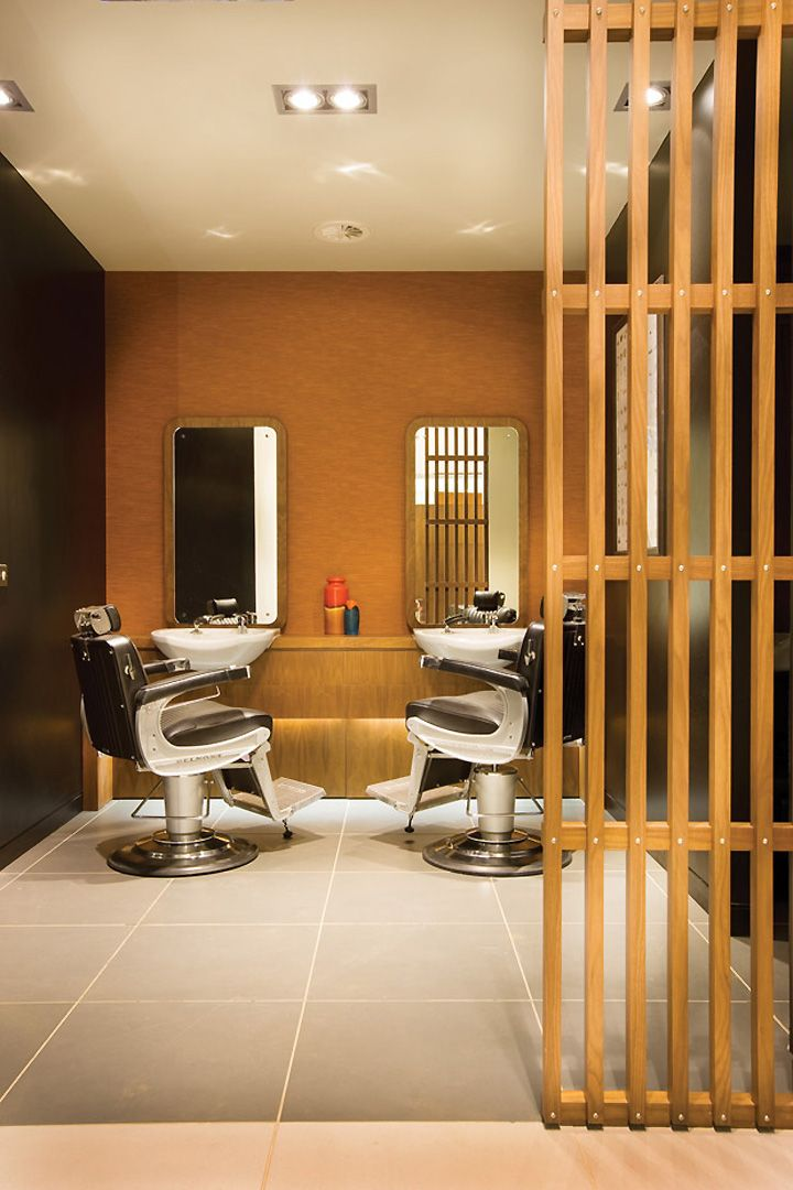 Hair Salon Spa : Kamigata Lifestyle salon & spa by Reis Design, Cardiff UK store design