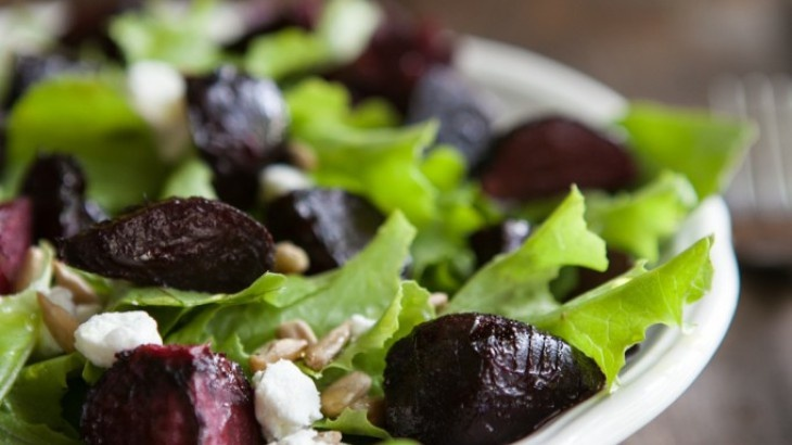 Maple Roasted Beet and Goat Cheese Salad | Food Crush | Pinterest