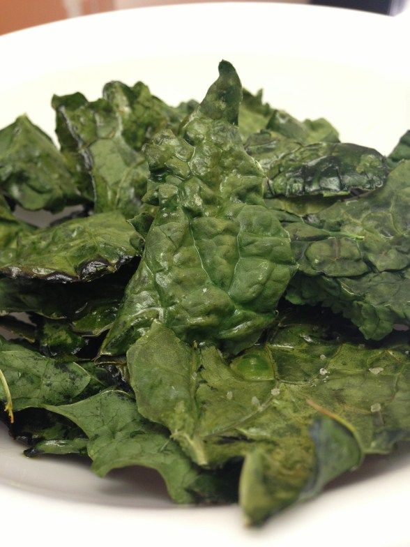 Simple Kale Chips Recipe | Food! | Pinterest