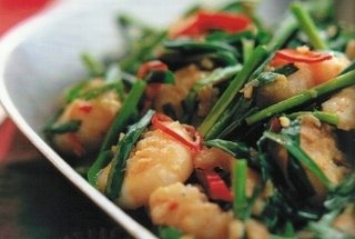 ... garlic and chives fisherman s shrimp with chinese chives recipes