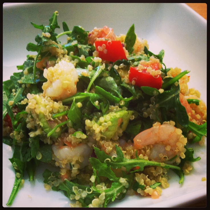 salad & two other pinterest posts. Ingredients 2 Cups Cooked Quinoa ...