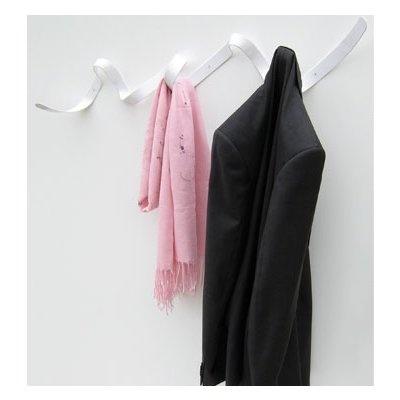 Ribbon coat rack, $130
