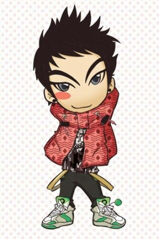 Top anime is even cute | T.O.P. vs G-Dragon (Rappers from BigBang ...