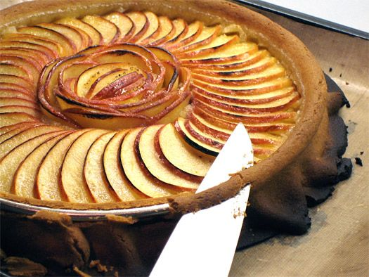 Apple Tart This is a simple, light and delicious apple and frangipane ...
