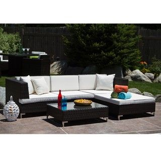 Miami Beach 5-piece Outdoor Seating Set | Overstock.com