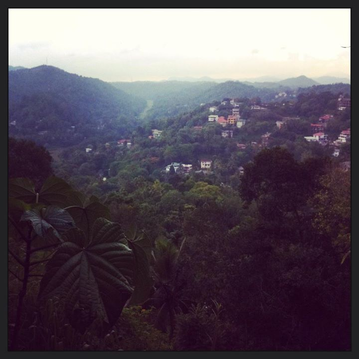 The view from Primrose hill in Kandy | Sri Lanka | Pinterest