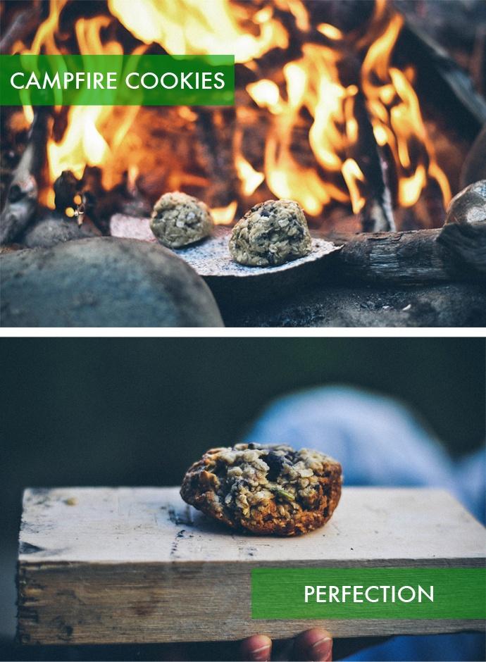 campfire cookies | camp craft | Pinterest