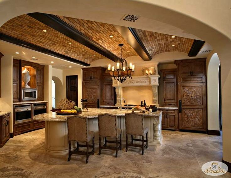 Spanish kitchen home spanish pinterest for Spanish style kitchen designs