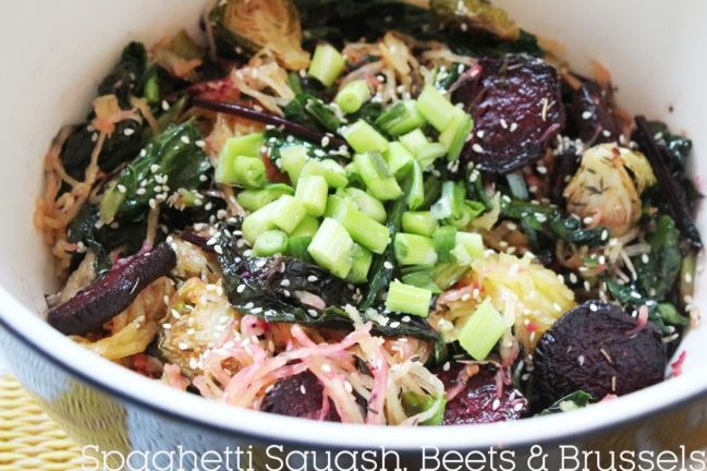 beets and brussels | For the Love of Food | Pinterest