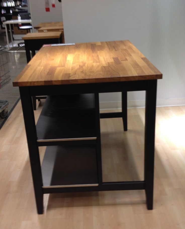 Ikea Free Standing Kitchen Island ~ Ikea Island  For reception desk  Church  Pinterest