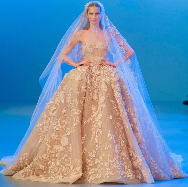 Gorgeous wedding gown by elie saab i m in love with this dress