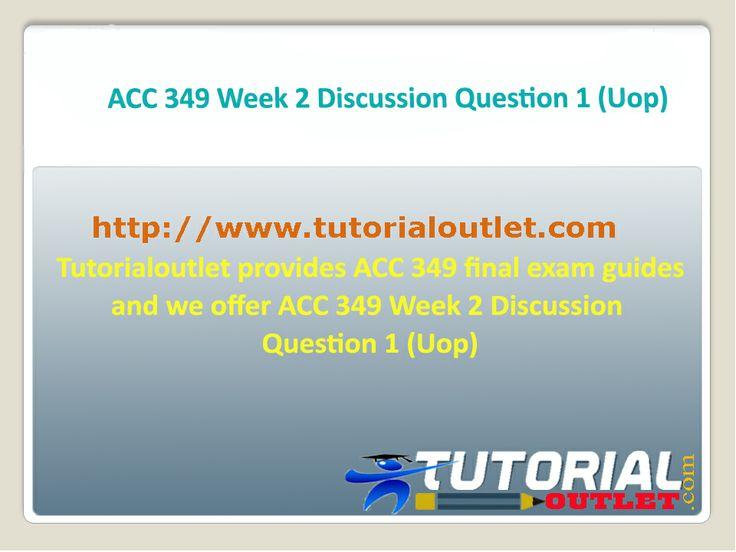 acc 349 week 1