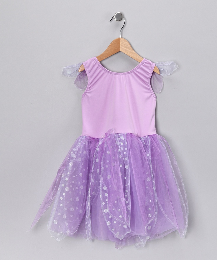 Lilac & White Fairy Dress - Toddler & Girls