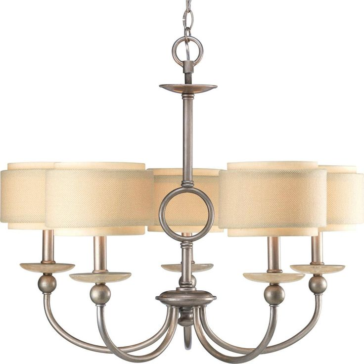 double drum urban chandelier 5 light products i love. Black Bedroom Furniture Sets. Home Design Ideas