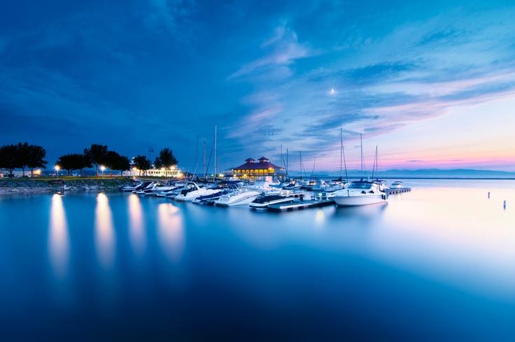 Lake Champlain, Burlington, Vermont, USA