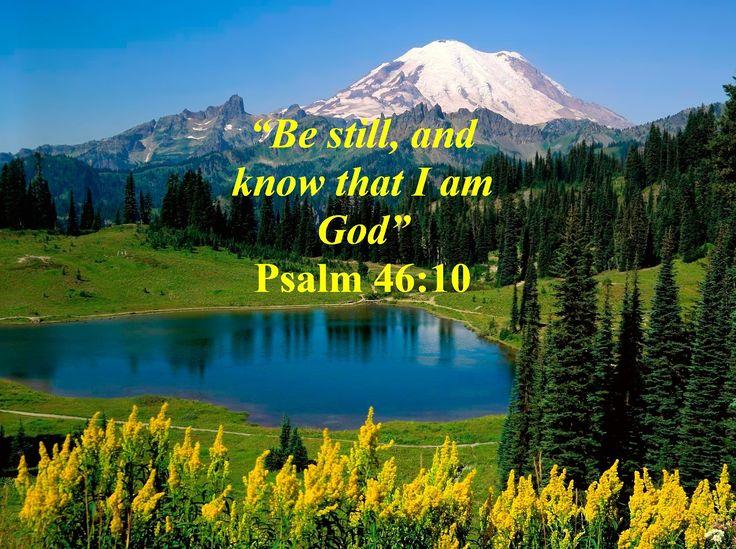 Psalm 46:10 KJB