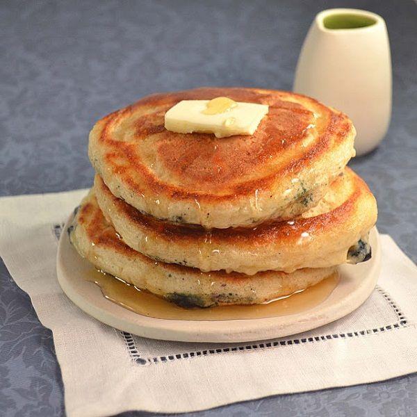 Easy, Light Fluffy Pancakes | Food Goodness | Pinterest