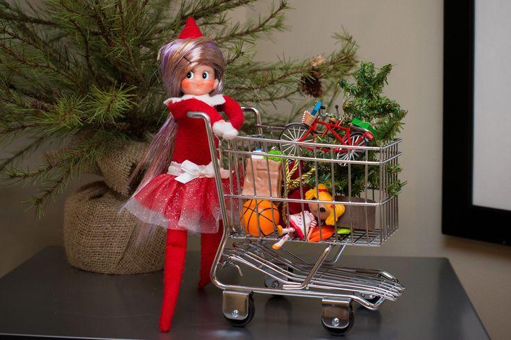 Eaton Family Elf Quot Pocket Quot 2013 Shopping Elf On The Shelf
