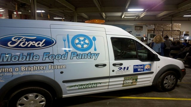ford motor company donations