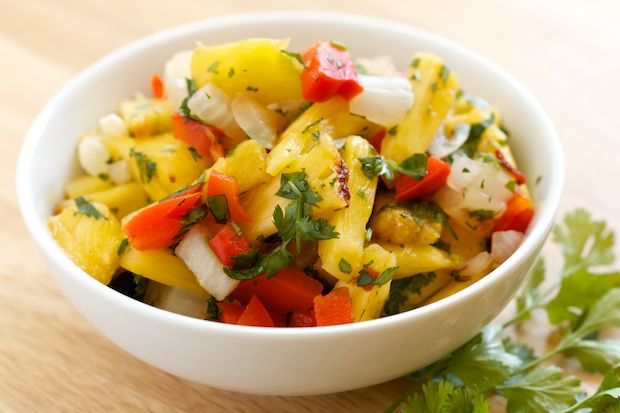 Grilled Pineapple Salsa | Recipe