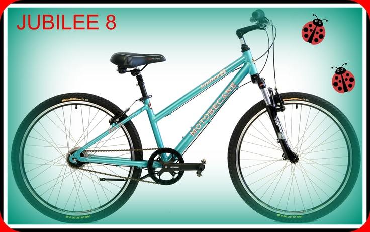 Motobecane Jubilee 8 Speed  Comfort Bikes Mens and Ladies Frames