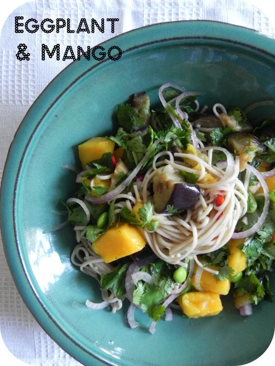 Soba Noodles with Eggplant and Mango | Voracious Vander