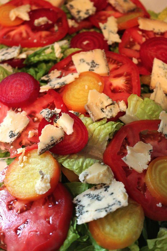 tomato and beet salad | CSA Veggie Recipes | Pinterest