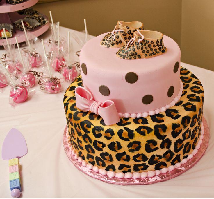 cheetah print baby shower cakes cheetah print baby shower invitations