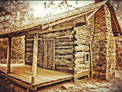 A cozy cabin in Arkansas