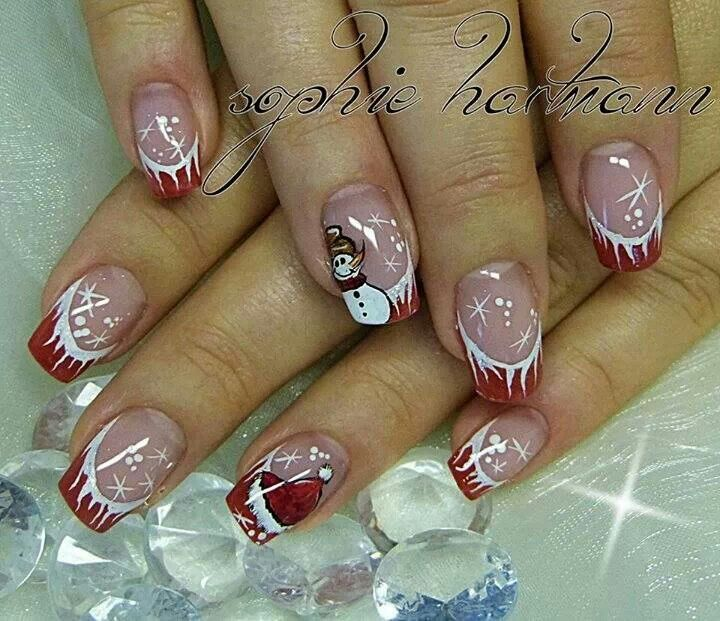 Christmas Nail Ideas Pinterest The Best Inspiration For Design And