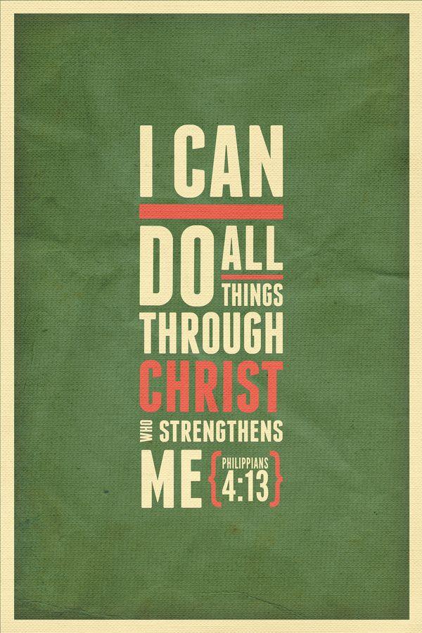 Phillipians 4:13
