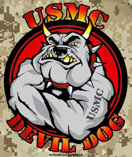 Marine_Corps #Devil_Dogs | Proud To Be An American | Pinterest